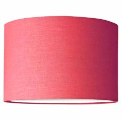 Grehom Lampshade - Drum (Rose); Fabric Lamp Shade