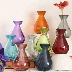Grehom Recycled Glass Bud Vase - Classic;10 cm Vase