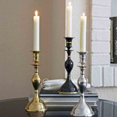 Grehom Candlestick - Pall Mall; 23 cm candle holder