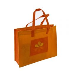 Grehom Hessian Gift Bag - Yellow Flower