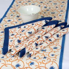 Grehom Napkins Large (Set of 2) - Blue Bellflower