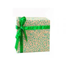 Grehom Gift Wrapping Paper - Creepers Green