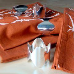Grehom Napkin Rings (Set of 4) - Crown