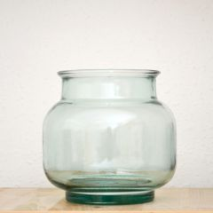 Grehom Recycled Glass Clear Punch Pot