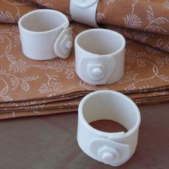 Grehom Napkin Rings (Set of 2) - Porcelain