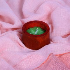 Grehom Candle - Green Frangipani in Bamboo Casing
