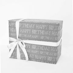 Grehom Gift Wrapping Paper (Set of 4) - Happy Birthday