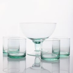 Grehom Recycled Glass Serving Bowl Set