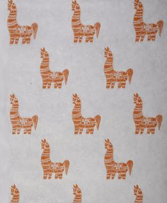 Grehom Gift Wrapping Paper - Clay Horse