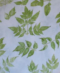 Grehom Cotton Gift Wrapping Paper - Neem