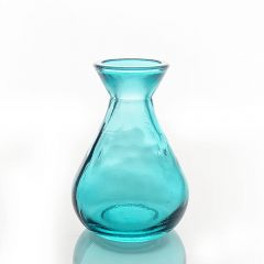 Grehom Recycled Glass Bud Vase - Classic (Blue);10 cm Vase