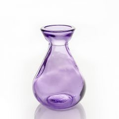 Grehom Recycled Glass Bud Vase - Classic (Lilac);10 cm Vase