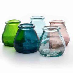 Grehom Recycled Glass Vases Set-Potli