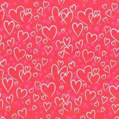 Grehom Gift Wrapping Paper- Pink Hearts