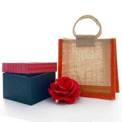 Grehom Gift Set - Red Rose Bag