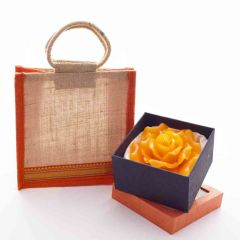 Grehom Gift Set - Orange Rose Bag