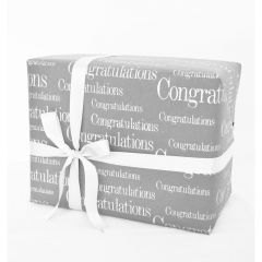 Grehom Gift Wrapping Paper (Set of 4) - Congratulations